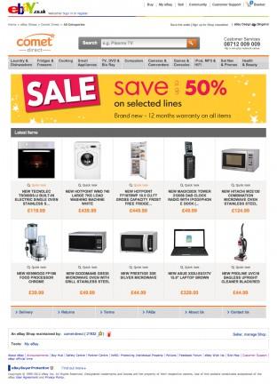 Comet eBay Store