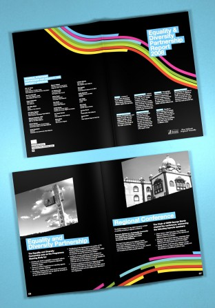 Brochure for Equality & Diversity Partnership Report 2008