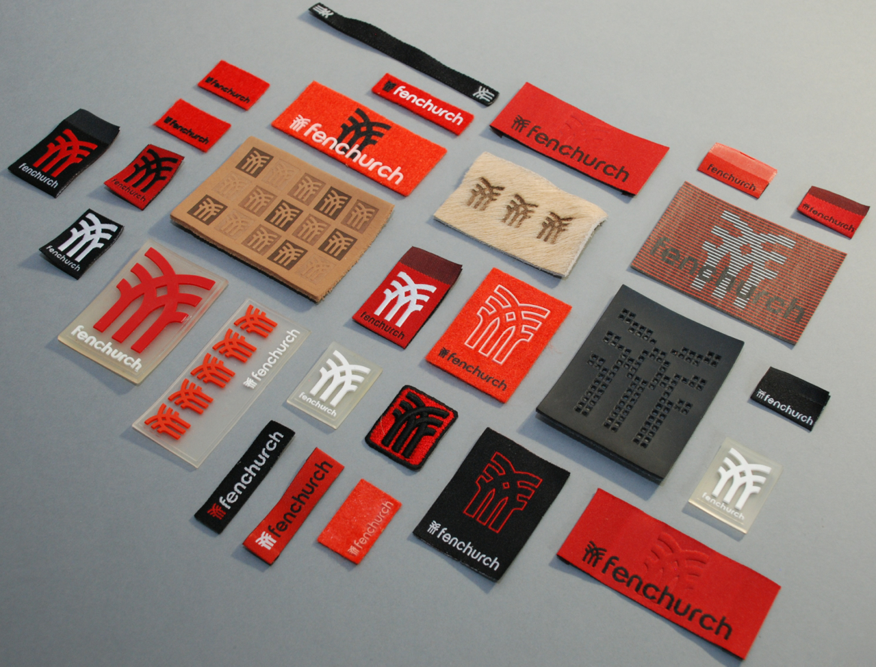 Fenchurch Clothing Labels Slingshot Graphic Design Web