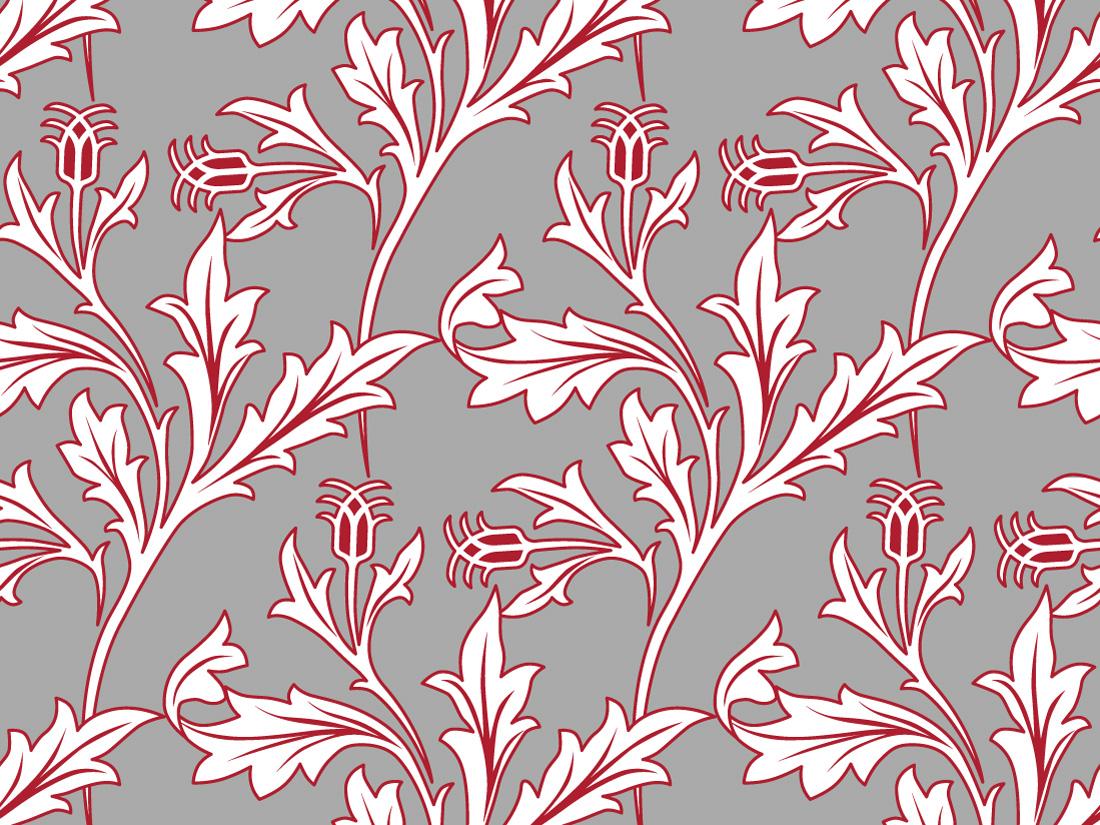 ... Morris Inspired Repeat Pattern | Slingshot Graphic Design & Web Design