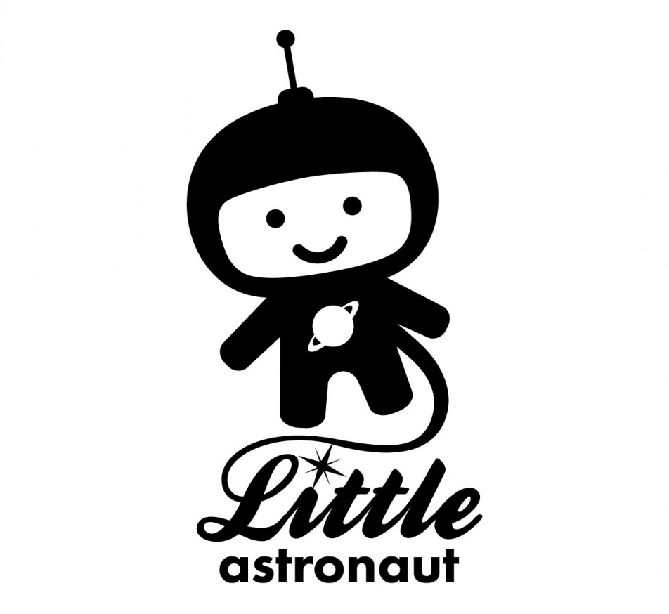 Little Astronaut Logo Slingshot Graphic Design Amp Web Design