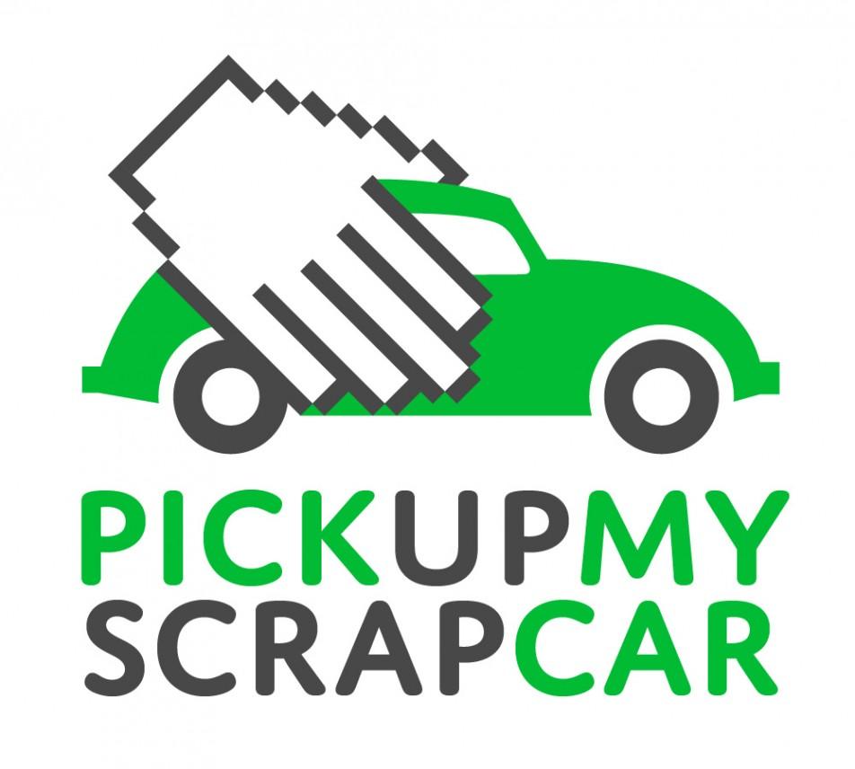 Logo for Pick Up My Scrap Car | Slingshot Graphic Design & Web Design