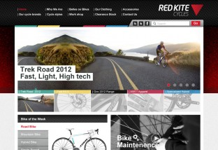 Red Kite Cycles Website