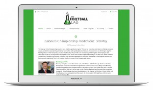The Football Lab Responsive Blog