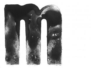 Letterform M