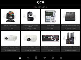 CPL Rate Card App for iPad and Android Tablets