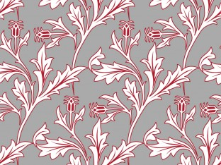 Fenchurch William Morris Inspired Repeat Pattern