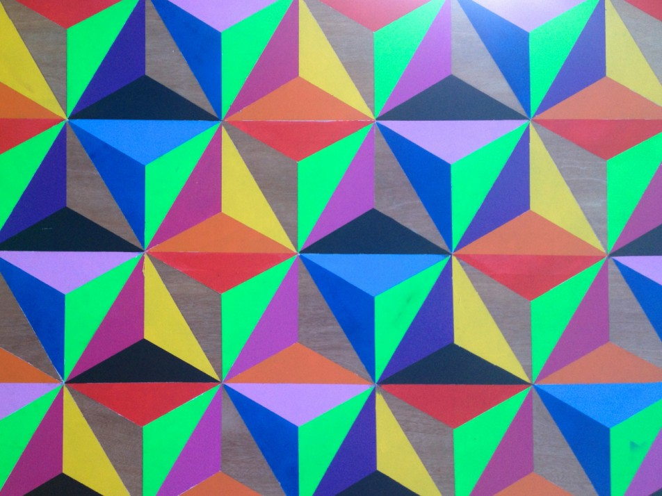 hand painted patterns on plywood slingshot graphic design web design
