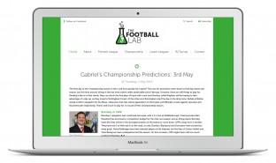 The Football Lab Responsive Blog
