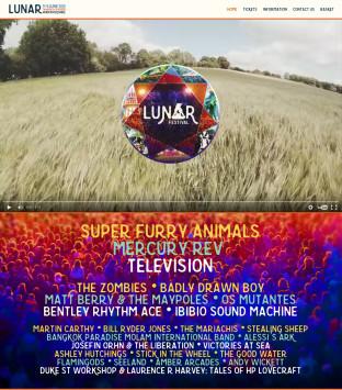 Lunar Festival 2016 Website